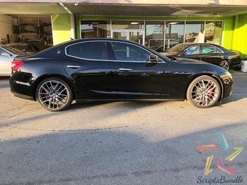 2017 Maserati Ghibli SQ4 Blue