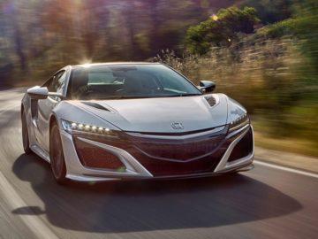 The 2017 Honda NSX: A Responsible Supercar