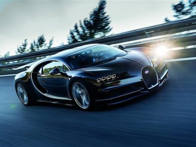 2017 Bugatti Chiron : Again with the Overkill