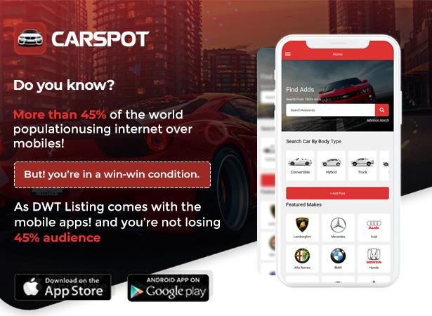 CarspotReactネイティブアプリ